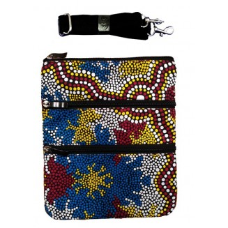 hogarth | arts - 3Z Cross Body Bag - Wetland Dreaming - 2