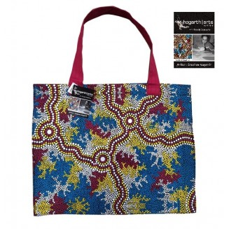 hogarth | arts - Canvas Bag - Wetland Dreaming - 2