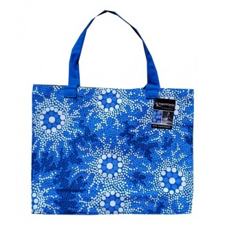 hogarth | arts - Canvas Bag - Waterhole Dreaming