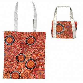 Hogarth | Arts - Cotton -Fold-up Tote Bag - Pathways 2