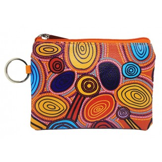 Hogarth | Art - Coin Purse with Keyring - Skipping Stones