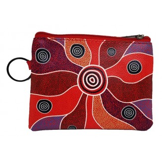 Hogarth | Art - Coin Purse with Keyring - Central Land