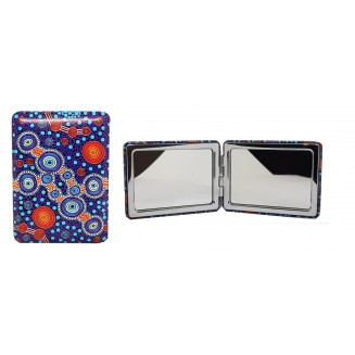 Hogarth | Art - Double-Sided - Rectangle Compact Mirror - The Journey