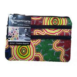 hogarth | arts - 3Z Cosmetic Bag - Pathways - 3