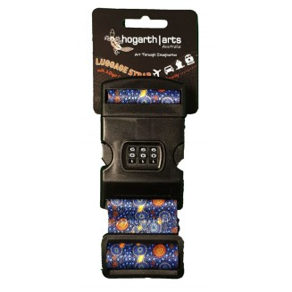 Hogarth | Art - Luggage Straps with 3-digit Combination - The Journey