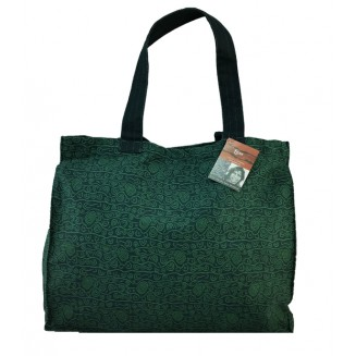 Yijan Aboriginal Art - Canvas Bag - Women - Green - 18